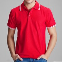 Wholesale slim fit clothing brands for men for sale - Brand Clothing Polo Shirt Solid Casual Polo Homme for Men Tee Shirt Tops High Quality Cotton Slim Fit tcg Accpet Custom Designer Polo
