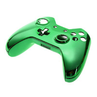 Wholesale Console Metal - Fashion Generic Metal Plating Protective Case Cover Skin For Xbox-one Gaming Console Controller High Quality