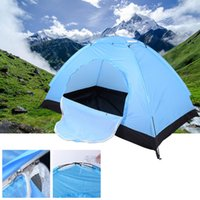 Wholesale Tent Windproof - Wholesale- Hot Sale !! One&Two Bedroom Outdoor Single Tents Hiking& Camping Tents High Strength Fibre Glass FRP Pole Waterproof Windproof