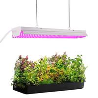 integrierte led wächst großhandel-2ft 32W Pflanzenwachstumslicht - LED integrierte Lampenbefestigung Plug and Play - Volles Spektrum für Zimmerpflanzen Blumen wachsen