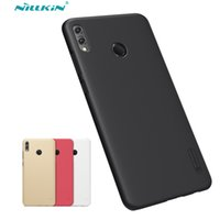 Wholesale nillkin matte hard cover case online – custom Honor X Max Case Cover Nillkin Frosted Shield Hard Back Matte Case For Huawei Honor X Max PC Bumper Gift Phone Holder