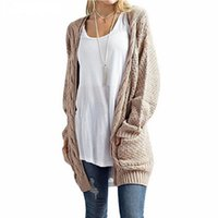 cce7442db1 Long Cardigan Women Long Sleeve Knitted Sweater Cardigans Autumn Winter  Womens Sweaters 2018 Jersey Mujer Invierno Plus Size 3XL