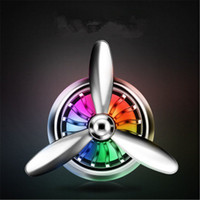 Wholesale mini fragrances wholesale - Digitalboy Car Air Conditioner Outlet Vent Clip Mini Fan Aircraft Head Air Freshener Perfume Fragrance Scent inner Aromatherapy