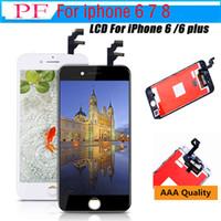 iphone 5 lcd screen оптовых-Эффект дисплея, как оригинальный ЖК-дисплей класса AAA+ + + (Tianma) ЖК-экран для iPhone 5 6 6 Plus 6S 7 7 Plus 8 8 ЖК-дисплей с сенсорным экраном дигитайзер