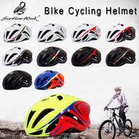 chapeau de cyclisme sur route achat en gros de-2018 Nouveau Casque De Vélo Pour Hommes Ultralight EPS + PC Couverture VTT Vélo De Route Casque De Vélo Intégré-moule Vélo Vélo En Toute Sécurité Cap