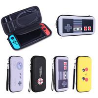 sert taşıma çantası toptan satış-Nintendo Anahtarı NS EVA Sert Kabuk Seyahat için Taşıma çantası Kapak Saklama Çantası Çantası Anahtar Konsol Kolu