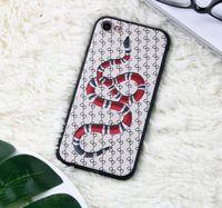 marken-handys großhandel-2019 Creative Tide Marke iPhoneXS MAX Handyhülle Snake matt Designer Handyhülle benutzerdefinierte Smart Watch Kopfhörer