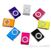 Wholesale MP3 Support Micro TF SD Slot With Earphone and USB Cable Portable MP3 Music Players