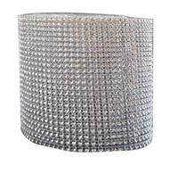ingrosso decorazioni di torta di diamanti-Tulle Rolls Mesh Trim Bling Diamond Wrap Cake Roll tulle 1 yard / 91.5 cm Crystal Ribbons Decorazione di cerimonia nuziale del partito rifornimenti del partito
