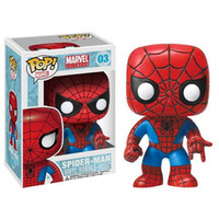 Wholesale Black Spider Man Figure - Funko POP Marvel Spider-Man Homecoming Spider-Man Homemade Suit The Joker Action figures Toy Captain america Ironman Black Widow X-Man Hulk
