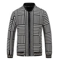 erkekler hendeği uzun ceketi toptan satış-Marka yüksek sürüm moda tasarımcısı kış ceket trençkot tasarımcı ceket erkek uzun kollu bombacı ceket palto