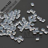 ingrosso estensioni cheratina italiane-Italia Keratin 100G White Melt Colla Hard Cheratina italiana per capelli estensioni