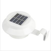 garden door achat en gros de-Lumière solaire utile de 3 LEDS, lampe d'extérieur étanche avec capteur de mouvement, utilisée pour le mur, le jardin, la porte d'entrée, le patio, la cour