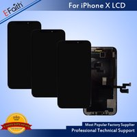 Wholesale Lcd Oled - OlED Quality New Arrival No Dead Pixel LCD For iPhone X Good Replacement For Phone Repair With Free DHL Shipping High Quaility