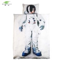Wholesale boys full size bedding for sale - New Brand D Bedding set Astronaut Captain America princess Bed duvet cover Twin Full Queen Size For Girls Boys gift