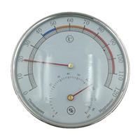 Wholesale Aluminum Tiles - 5-inch Dial Thermometer Hygrometer Aluminum Case for Sauna Room