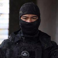máscaras tácticas de paintball al por mayor-Airsoftsports Tactical Balaclava Camuflaje Caza Paintball Montar Mascarilla Facial
