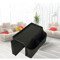 Wholesale folding sofas - Practical Hanging Bag Arrangement Storage Bags Sofa Handrail Remote Control Storagebag Bedroom Office Holder Arm Best Organizer 5 5ed jj