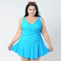 11741349a1f Hot Plus Size Women s Large Size bikini set Large One-Piece fat swimwear  swimsuit women big Super 2XL 6XL