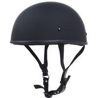 capacetes de moto xxl venda por atacado-Capacete de moto peso leve artesanal Capacete de moto chopper estilo Vintage Clássico meia cara sem projeto cogumelo DOT aprovar