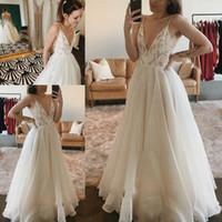 019050a2a Venta al por mayor de Vestido De Boda De Impresión Simple - Comprar ...