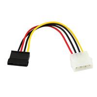 ide ata sürücü toptan satış-18 cm USB2.0 IDE Seri ATA SATA HDD Sabit Disk Güç Adaptörü Kablosu Kablosu Futural Dijital Drop Shipping JUN30
