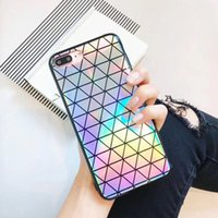 Wholesale phone case rainbow for sale – best Colorful Laser Case for iPhone X iPhone Plus Cool Laser Rainbow Shining Case Back Cover Phone Case