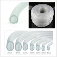 Wholesale silicone tubing for sale - Group buy 1 Meter mm mm mm Clear Aquarium Air Pump Flexible Airline Tubing Silicone Tube Fish Tank Water Pump Oxygen Tubing Hose Pipe