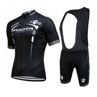 Wholesale kuota cycling team for sale - Group buy KUOTA team Cycling Short Sleeves jersey bib shorts sets new arrive With Ultra Breathable Bike Wear U40742