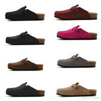 2018 hot selling real leather bag head pull cork slippers female male summer anti-skid slippers lazy shoes lovers beach shoes Scuffs