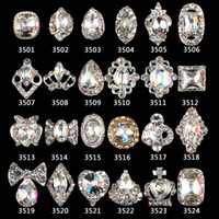 Wholesale nails alloys for sale - Group buy 2018 new arrival colorful AB nail rhinestone for nail gem rhinestone alloy art decorations d jewelry