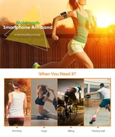 спортивные повязки для мобильных телефонов оптовых-Maleroads Sports Running Bag Keys Arm Bags Pouch Sports Running Armband for 4 - 6 Inch Smartphone Mobile Phone