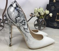 Wholesale gold snake heels online - fashion summer women sandals chuncky heels med cutout high heeled sandals straps cross Rome snake for leather women slipper