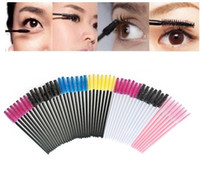 Wholesale ladies makeup sets for sale - Group buy Makeup Tool Disposable Eyelash Makeup Brushes Cosmetic Mascara Brush Wands Applicator for lady gifts