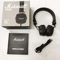 intelligente kopfhörerdrähte großhandel-Marshall Major III 3.0 Wired Kopfhörer DJ Kopfhörer Deep Bass Noise Isolating Headset Kopfhörer für iPhone XR Samsung Smart Phone