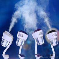 spray 12v venda por atacado-Atualizado 12 V Umidificador Do Carro com Dupla 2USB Purificador de Ar Do Carro Purificador de Ar Difusor de Aroma Difusor de Óleo Essencial Difusor Névoa Criador
