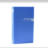 kartvizit defterleri toptan satış-Kartvizit Kitap Büyük Kapasiteli 240 Kartvizit Klasörü erkek Kartvizit Kitap Klasörü Ofis Kartları Organizatör