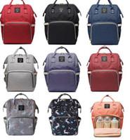 çok işlevli anne çantası toptan satış-Bezi Çantası Unicorn Çok Fonksiyonlu Seyahat Sırt Çantası Bebek Sırt Çantaları için Nappy Çantalar Unicorn Sırt Çantası Moda Mumya Sırt Çantası KKA4041
