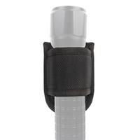 Wholesale d nylon online - ROCOTACTICAL Open Top Compact Light Pouch for Duty Belt D Cell Compact Flashlight Holder for Police Duty Belt D Nylon Scretchproof