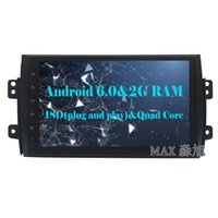 Wholesale Build Suzuki - 2G RAM+16G ROM Android 6.0 Car DVD Player for Suzuki SX4 2006 2007 2008 2009 2010 2012 2013 with WIFI GPS map
