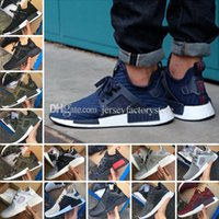 Wholesale Womens White Tops - 2018 New Men & Womens top quality ultra boost NMD XR1 Glitch Black White Blue Camo Pack ultraboost man running shoes sports shoes size 36-45