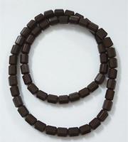 Wholesale tourmaline beads necklace - Free Shipping!! Tourmaline Germanium beads energy stone necklace negative ion health Power Sports Energy Pendant Necklace