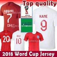 Wholesale harry shirts - 9 Harry KANE 7 STERLING 10 DELE 2018 World Cup Soccer Jersey VARDY Stones Arnold Delph football shirt Henderson camisa de futebol