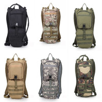 Wholesale 3l hydration backpack for sale - Group buy 3L Military Tactical Hydration Backpack Sports Cycling Hiking Climbing Travel Bicycle Backpacks Camping Sets Support FBA Drop Shipping G585F