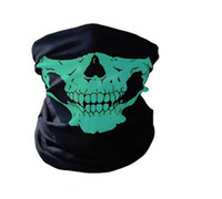 Wholesale Wholesale Skull Motorcycle Helmets - Free Shipping+Wholesale Skull Bandana Bike Motorcycle Helmet Neck Face Mask Paintball,300pcs lot