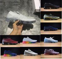 Wholesale army fashion for women - Wholesale New Vapormax Casual Shoes For Men Sneakers Women Fashion Sport Shoe Hot Corss Hiking Jogging Walking Outdoor Shoe Size 36-45