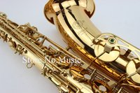 Wholesale saxophone selmer - SELMER Mark VI Tenor Bb B-flat Saxophone High Quality Brass Gold Plated Sax Professional Musical Instrument With Case,Mouthpiece