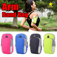 Wholesale cell phone cases 5.5 inch for sale – best Universal Cell Phones Arm Bag Band inch Sports Running Armband Bag Case Waterproof Armband Holder Pounch for iPhone6 Plus
