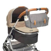 ребенка по беременности и родам оптовых-Maternity Diaper Bag Fashion  Baby Bag For Strollers Waterproof Nappy Changing Bags Designer For Mom Travel Strollers