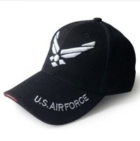 Wholesale snapback army casual for sale - US Air Force Embroidered Letters Tactical Caps Baseball Cap Men Army Cap Outdoor Sports Hat snapback cap KKA4874